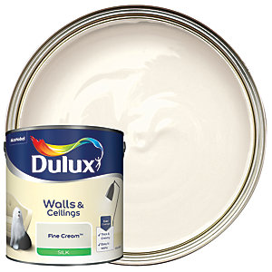 Dulux - Fine Cream - Silk Emulsion Paint 2.5L