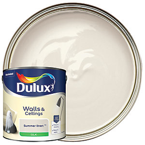 Dulux - Summer Linen - Silk Emulsion Paint 2.5L