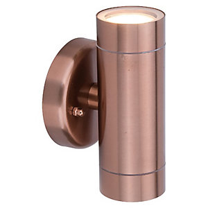 Lutec Vienna Copper Up & Down Light