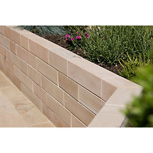 Marshalls Fairstone Sawn Versuro Smooth Walling Pack - Caramel Cream 3m2