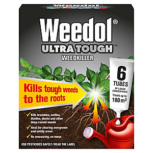 Weedol Ultra Tough Liquid Concentrate Weed Killer - 180m2