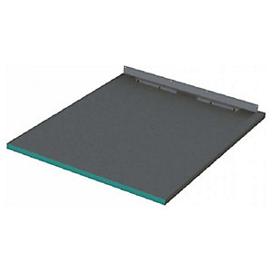Wickes 30mm Infinity Left Hand Single Fall Rectangular Shower Tray - 1400 X 950mm