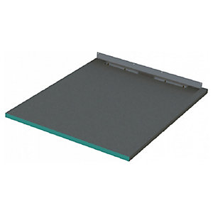 Wickes 30mm Infinity Right Hand Single Fall Rectangular Shower Tray - 1200 X 1250mm