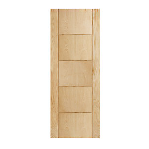 Wickes Thame Oak 5 Panel Internal Door - 1981mm