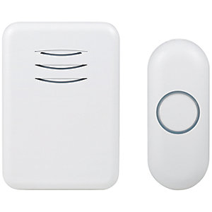 Byron DBY-22312UK 150m Wireless Doorbell with Plug In Chime