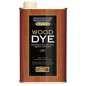 Ronseal Colron Refined Wood Dye - Jacobean Dark Oak 250ml