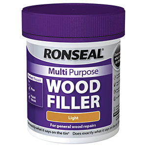 Ronseal Multi Purpose Wood Filler - Light 250g