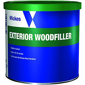 Wickes Super Tough Wood Filler - Natural 550g