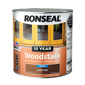 Ronseal 10 Year Woodstain - Dark Oak 2.5L
