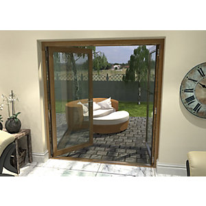 Rohden Pattern 10 Fully Finished Oak French Doors - 6ft