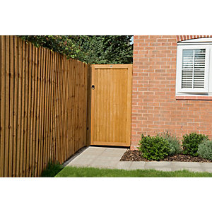 Forest Garden Closeboard Heavy Duty Timber Gate -  914 x 1815 mm