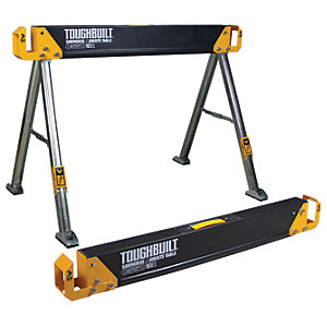 Toughbuilt C550-2 Saw Horse and Jobsite Table Twin Pack