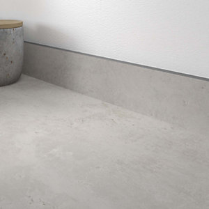 Cloudy Cement Zenith compact Upstand 100 x 12.5mm x 3m