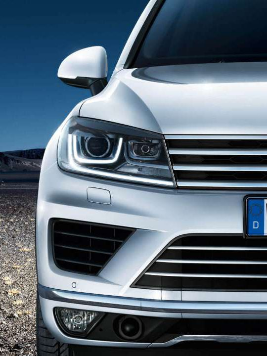 Réglage dynamique des feux de route Dynamic Light Assist du Touareg Legend