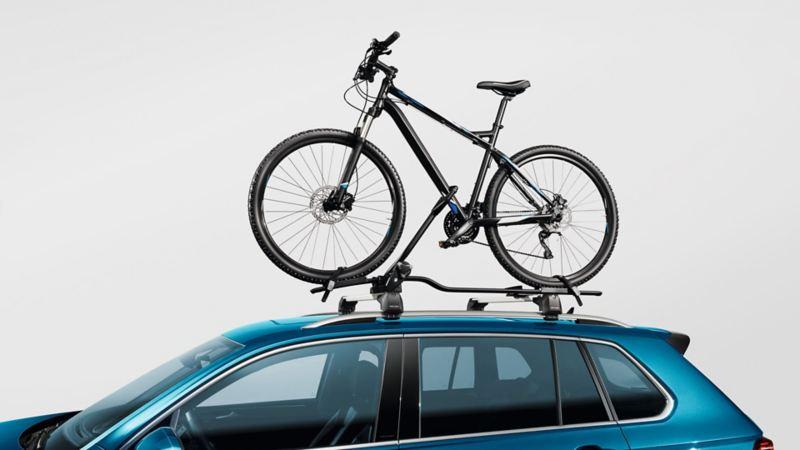 Lasteholder og sykkelholder til takstativ på VW Volkswagen Tiguan SUV