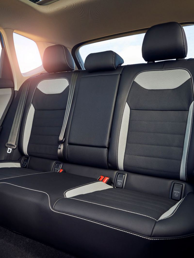 2021 VW Taos Back Seats
