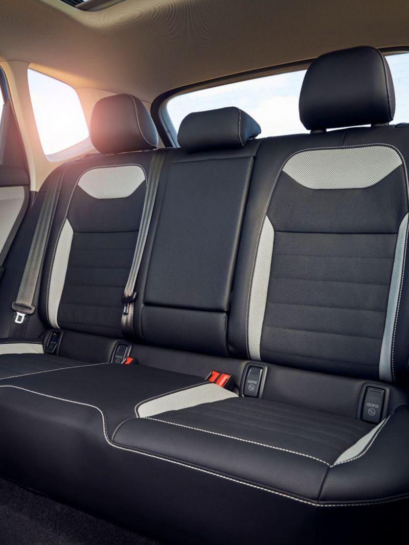 La banquette arrière du Taos 2021 de Volkswagen