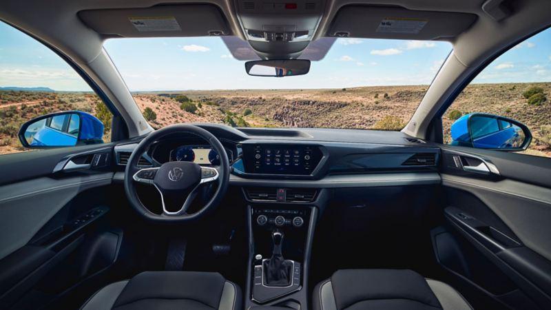 L'habitacle du Taos 2021 de Volkswagen