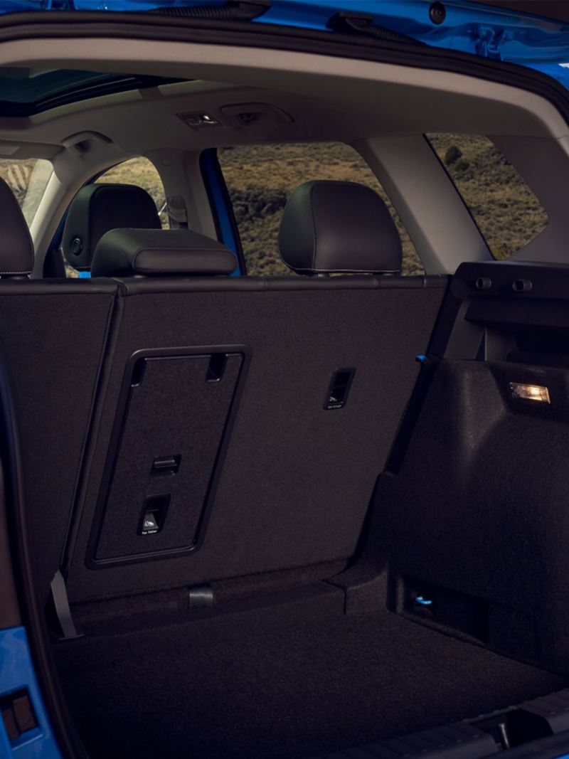 2021 VW Taos Trunk Space