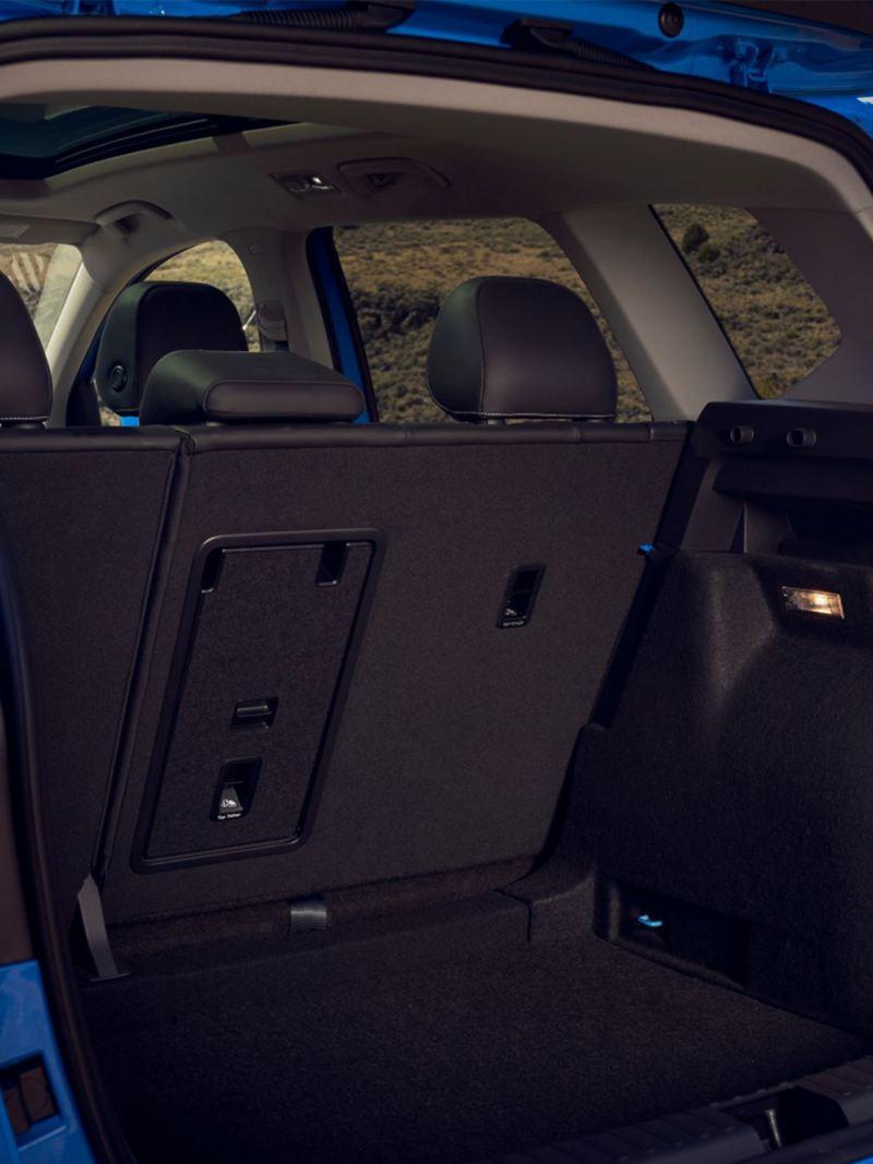 Coffre arrière du Taos 2021 de Volkswagen