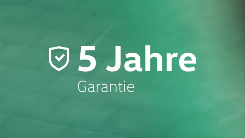 Illustration 5 Jahre Garantie UNITED Sondermodelle