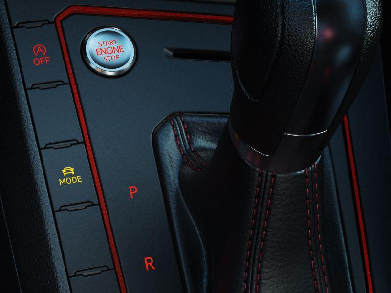 Seletor do perfil de condução