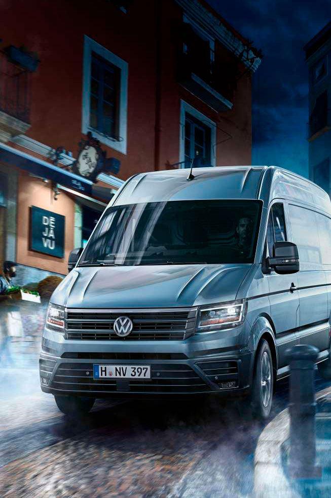 volkswagen crafter diseño exterior