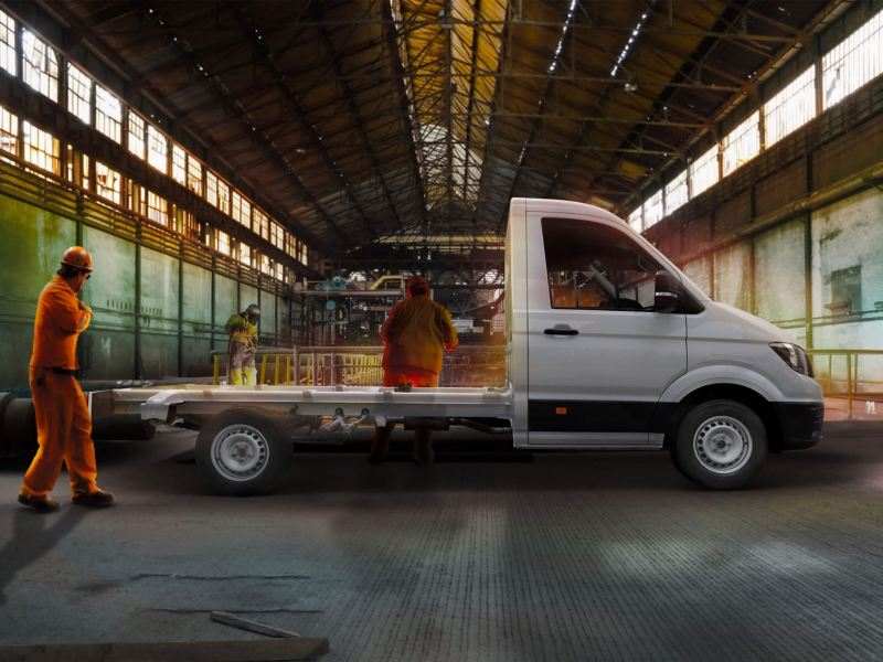 Volkswagen Crafter Chasis 3.5t. vista lateral