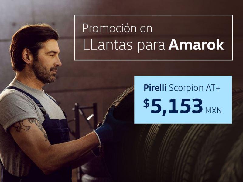 Promoción en llantas para pickup Volkswagen Amarok