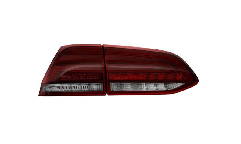 Image détourée des feux arrière à LED de la VW Golf Alltrack