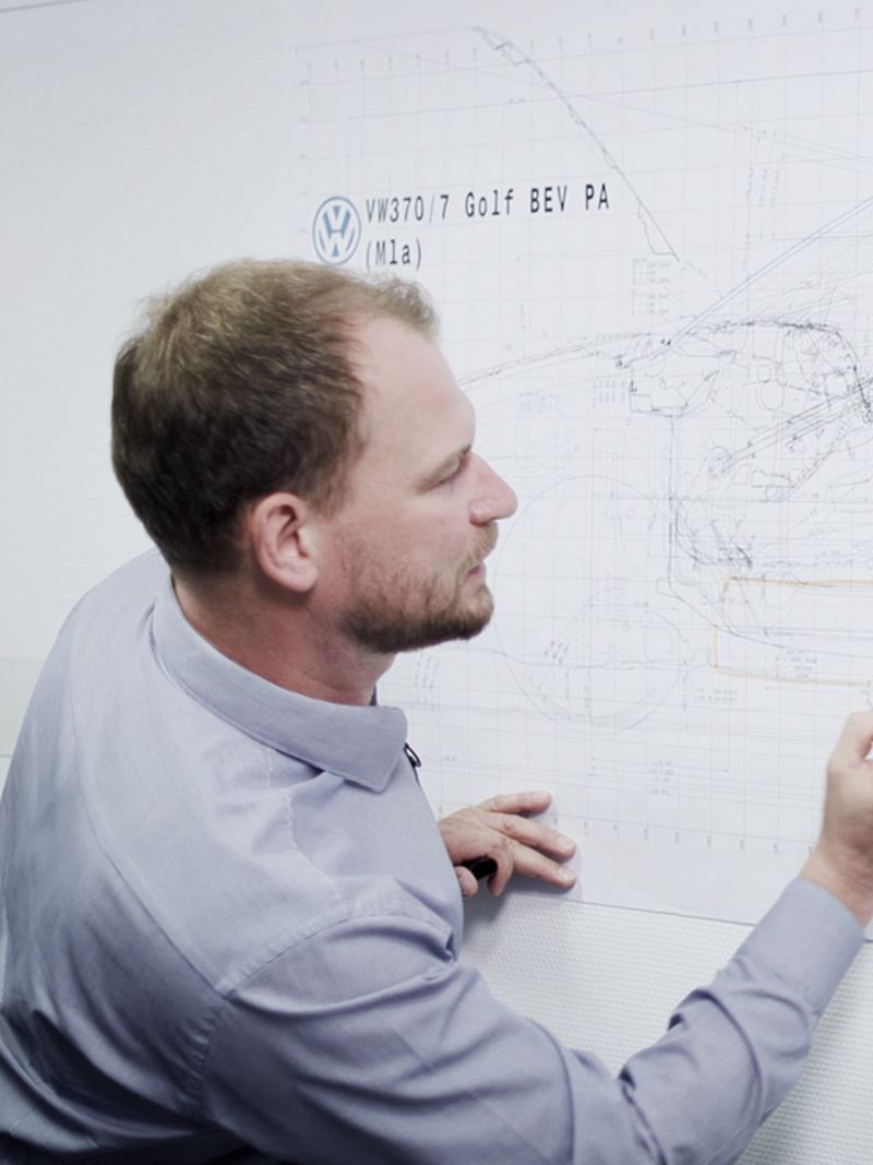 Marco Könnemann entwickelt Konzepte.