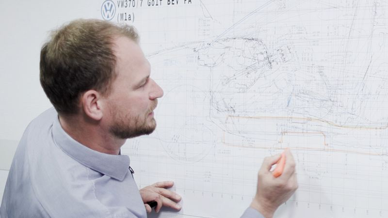 Marco Könnemann ontwikkelt concepten.