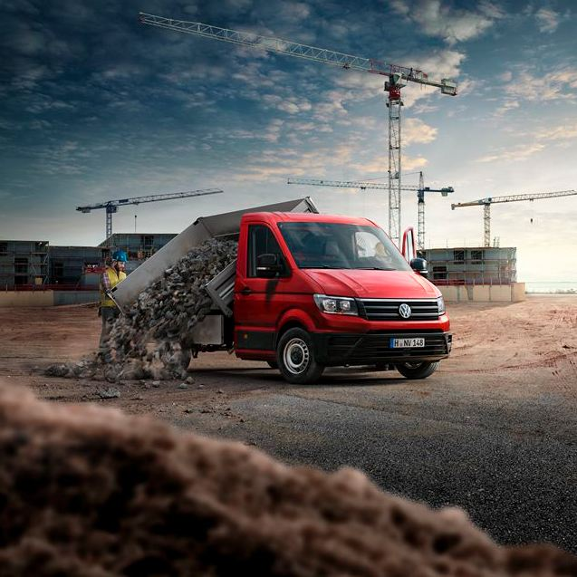 volkswagen crafter chasis flexibilidad