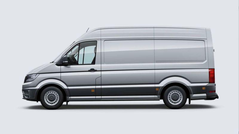 Volkswagen comerciales e-Crafter diseño interior