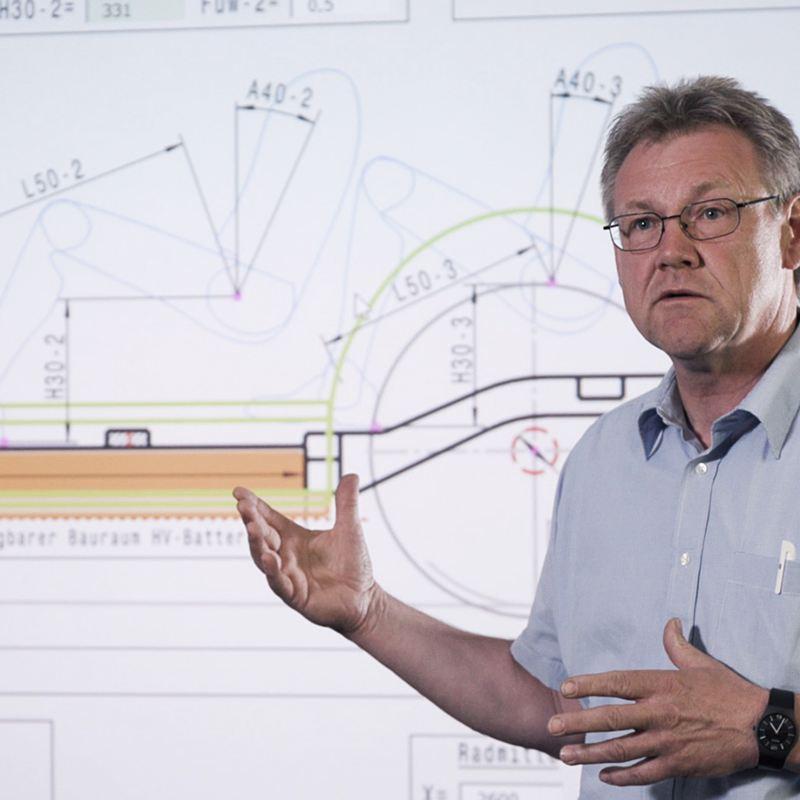 Bernd Dörrige at work.