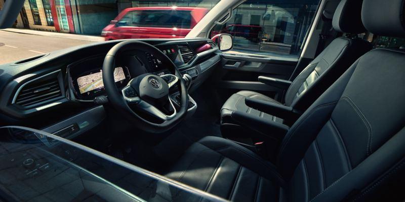 volkswagen multivan 6.1 diseño interior