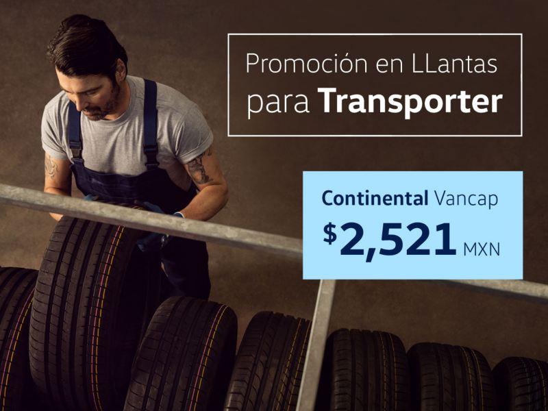 Promoción en llantas para Transporter Volkswagen
