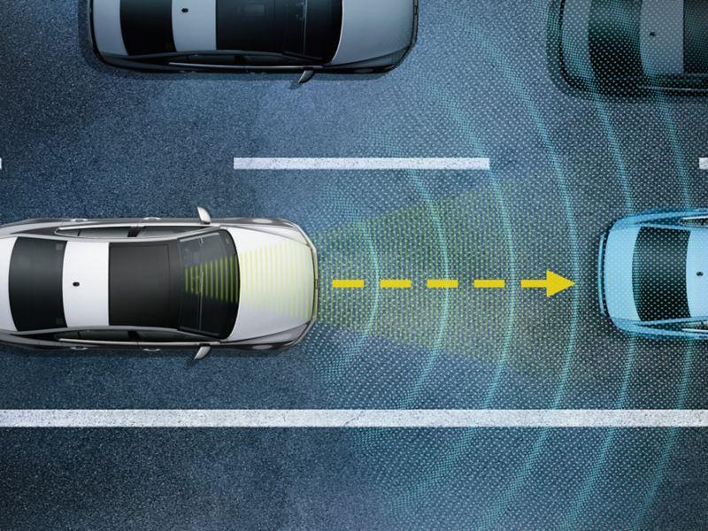폭스바겐 모델 티구안 안전 사양 트래픽 잼 어시스트