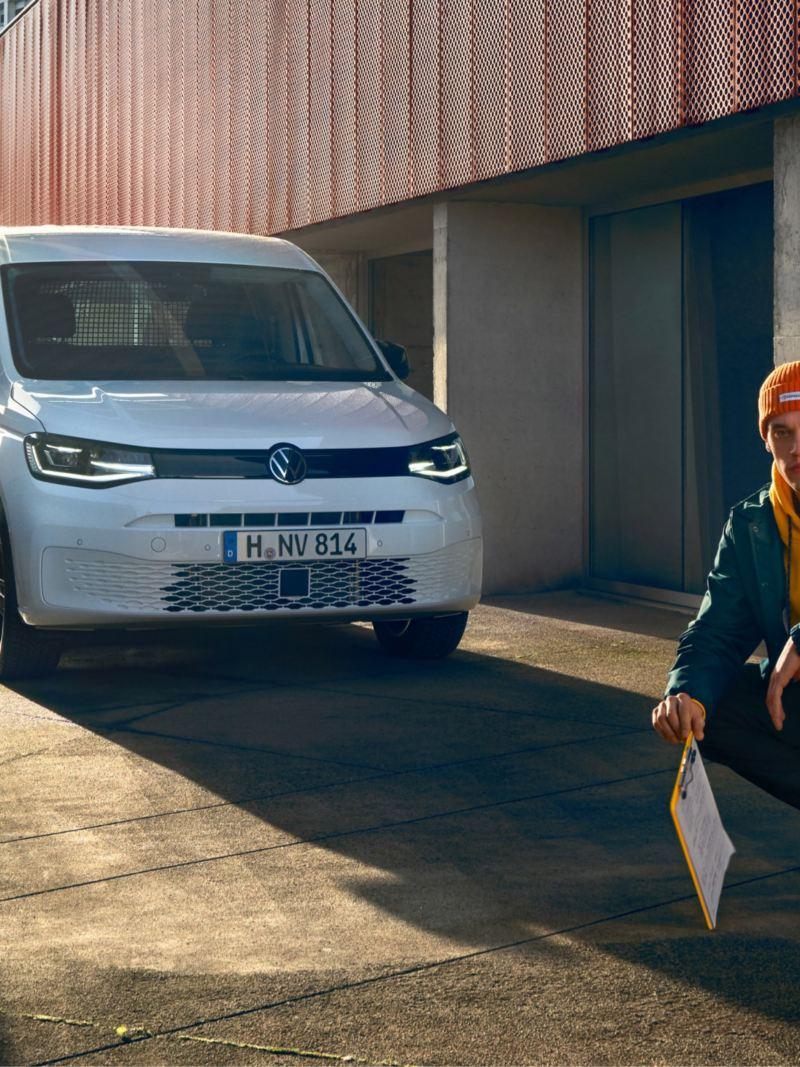 vw Volkswagen varebil nye Caddy 2020 liten verdenspremiere