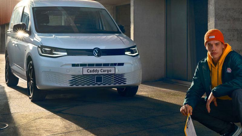 Nye vw Volkswagen Caddy 5 Cargo liten varebil budbil håndverker elektriker rørlegger