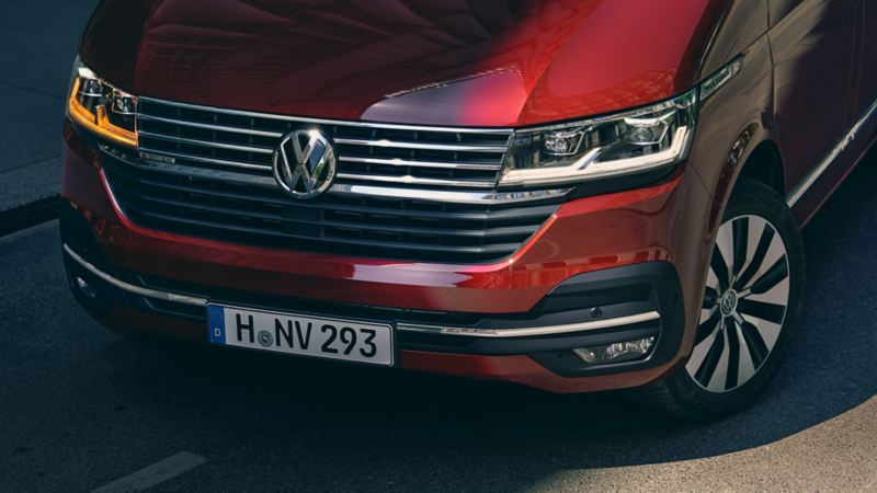 volkswagen multivan 6.1 diseño faros