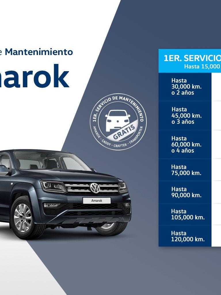 Servicio de mantenimiento Amarok