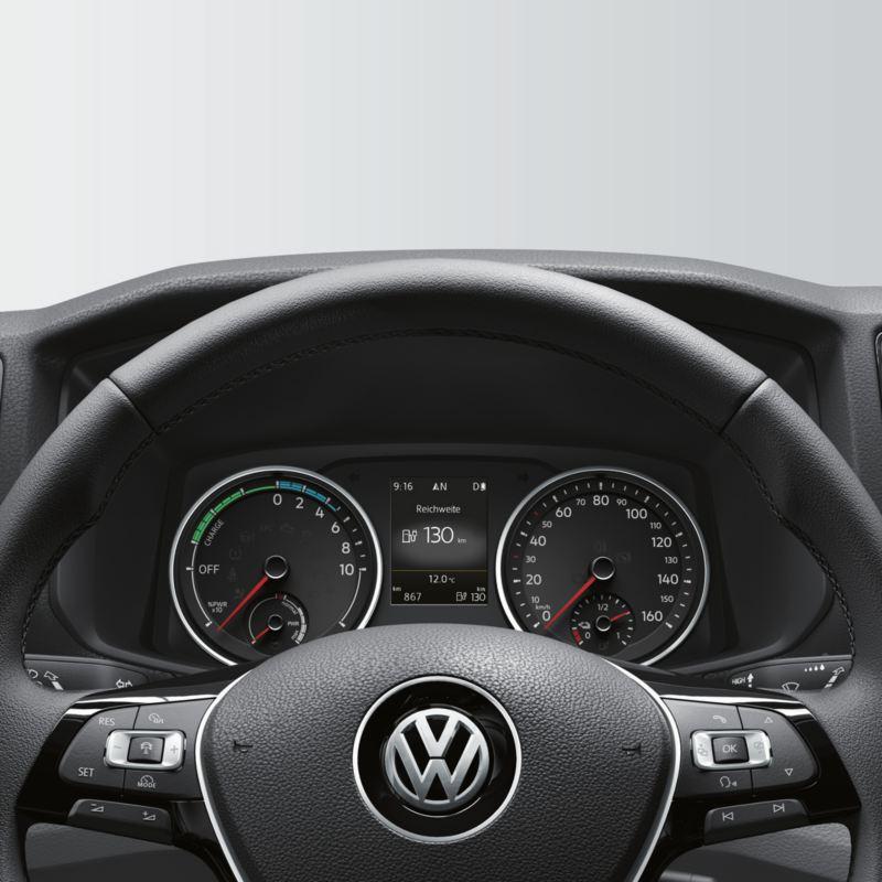 volkswagen e-crafter acabados diseño interior