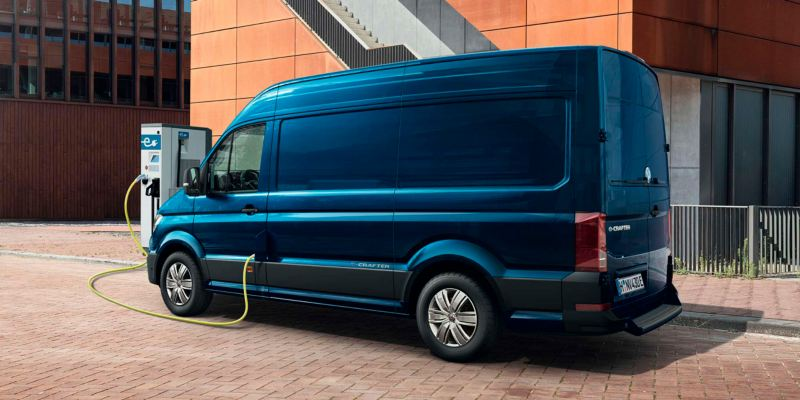 Volkswagen comerciales e-Crafter Combined Charging System