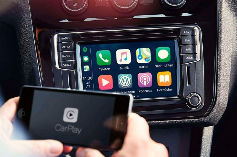 app connect volkswagen caddy gnc