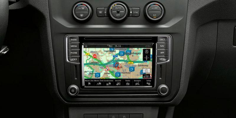 caddy beach pantalla sistema de navegacion discover media