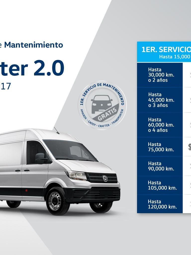 Servicio de mantenimiento Volkswagen Crafter
