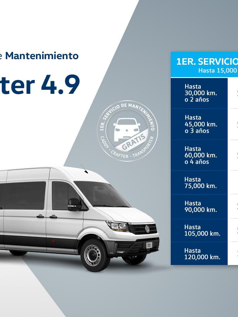 Servicio de mantenimiento Crafter 4.9t