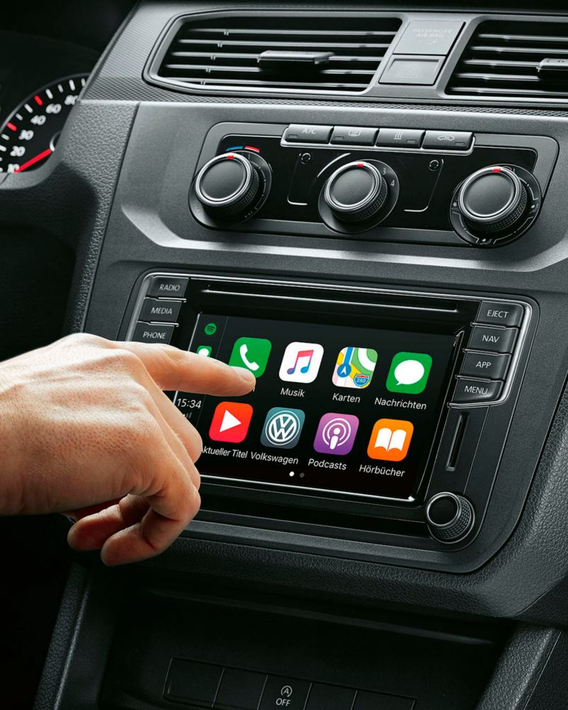 sistema app connect volkswagen caddy