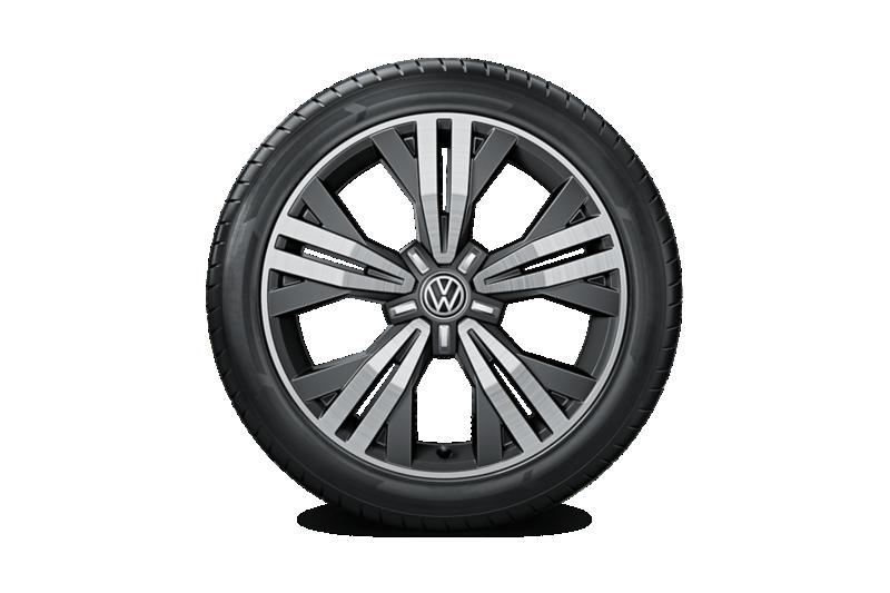18-calowe obręcze ze stopu metali lekkich Kalamata dla VW Golf Alltrack